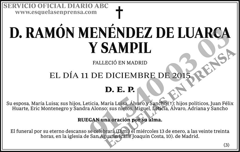 Ramón Menéndez de Luarca y Sampil